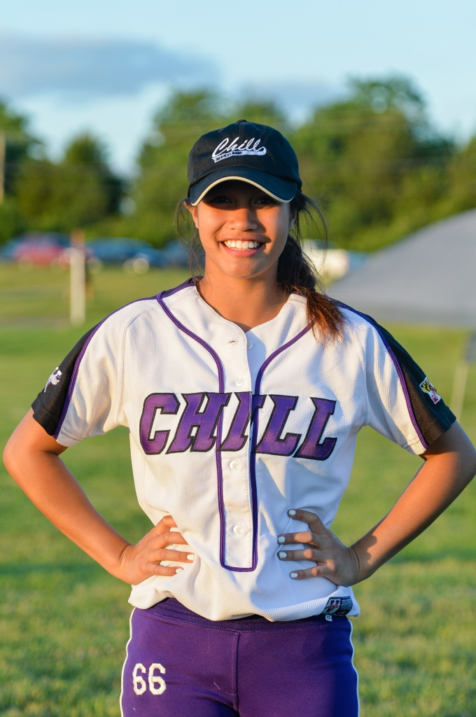 Softball Player, Maryland Chill 18U Gold, Long Reach High School